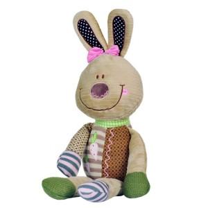 Zabawka królik z grzechotką